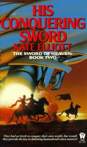 His conquering sword
