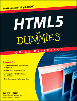 HTML5 For Dummies® Quick Reference
