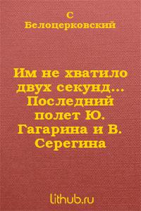 Им не хватило двух секунд… Последний полет Ю. Гагарина и В. Серегина