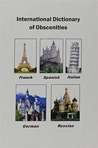 International Dictionary of Obscenities: A Guide to Dirty Words and Indecent Expressions in Spanish, Italian, French, German and Russian