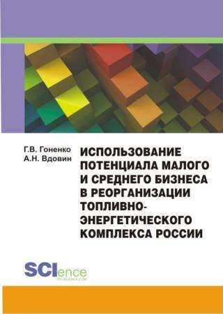 Использование потенциала малого и среднего бизнеса в реорганизации топливно-энергетического комплекса России. Монография