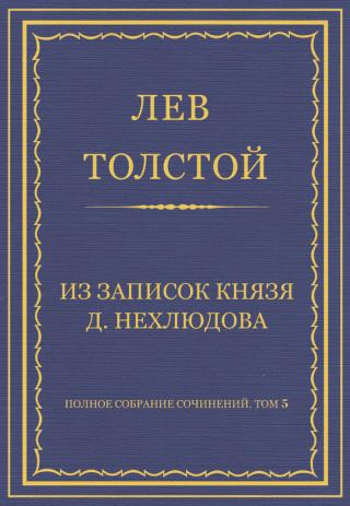 Из записок князя Д. Нехлюдова