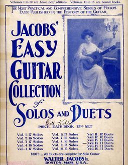 Jacobs' Easy Guitar Collection of Solos and Duets. Vol. 12. 12 Duets