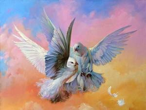 Ковчег и голуби, или Сказка о забытом телевизоре и верном устройстве семейного быта (СИ)