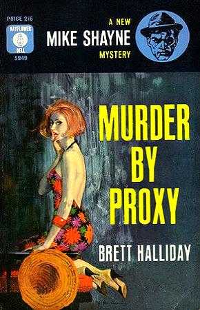 Красное платье для коктейля [Murder by Proxy]