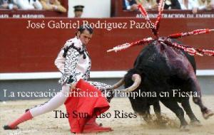 La recreación artística de Pamplona en Fiesta. The Sun Also Rises - Ernest Hemingway