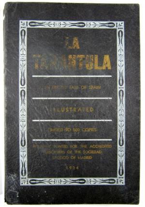 La Tarantula an Erotic Tale of Spain