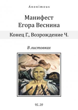 Манифест Егора Веснина в листовках