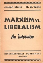 Marxism VS. Liberalism: An Interview