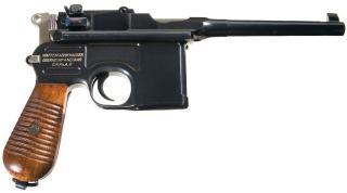 Mauser C96: Устройство