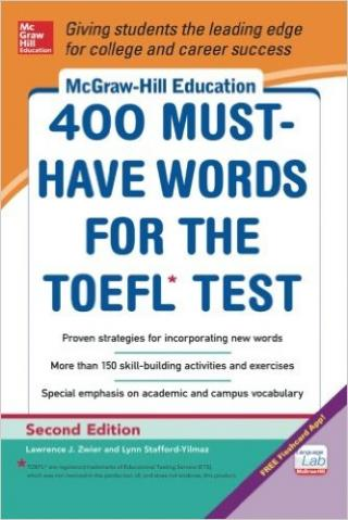 McGraw-Hill Education 400 Must-Have Words for the TOEFL®