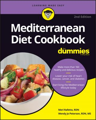 Mediterranean Diet Cookbook For Dummies® [2d Edition]
