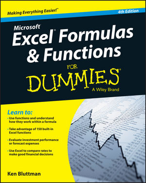 Microsoft® Excel® Formulas & Functions For Dummies® [4th Edition]