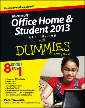 Microsoft® Office Home & Student 2013 All-in-One For Dummies®