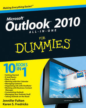 Microsoft® Outlook® 2010 All-in-One For Dummies®