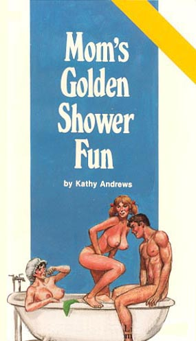 Mom's golden shower fun