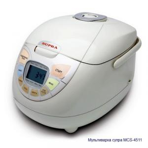 Мультиварка SUPRA MCS-4511. Рецепты.