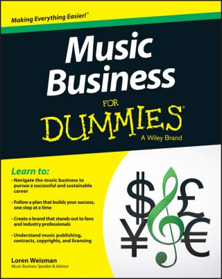 Music Business For Dummies®