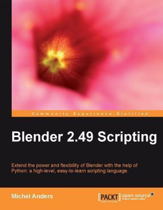 Написание скриптов для Blender 2.49