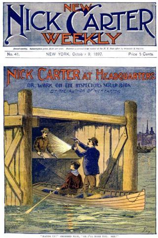 Nick Carter at Headquarters