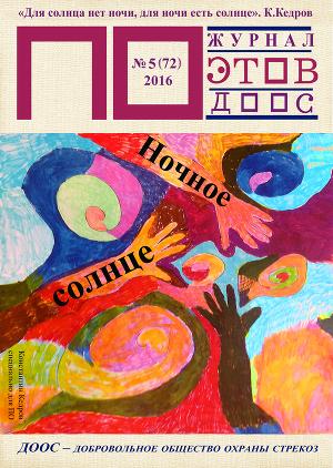 Ночное солнце. Журнал ПОэтов № 6(72) 2016 г.