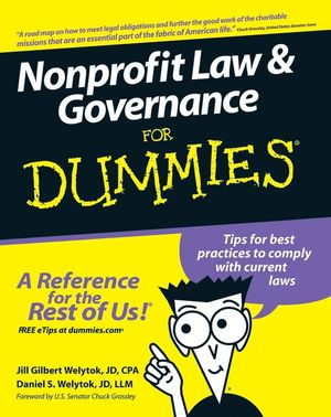 Nonprofit Law and Governance For Dummies®