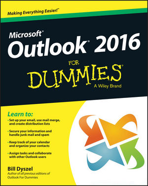 Outlook 2016 For Dummies®