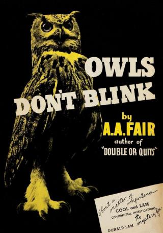 Owls Don't Blink
