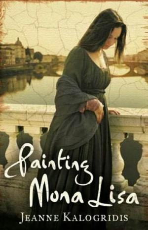Painting Mona Lisa aka I, Mona Lisa