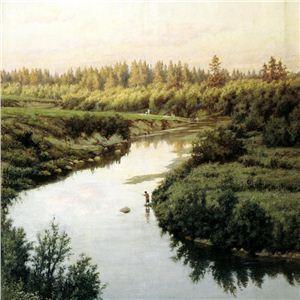 Пейзажи русских художников