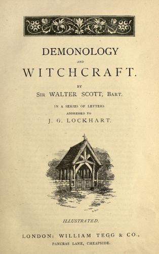 Письма о демонологии и колдовстве