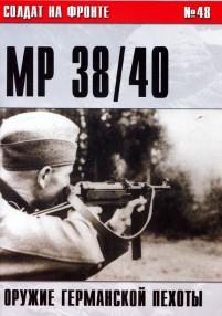 Пистолет-пулемет MP 38/40. Оружие германской пехоты [немного фото]