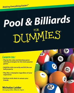 Pool and Billiards For Dummies®