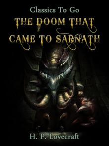 Проклятие города Сарнат