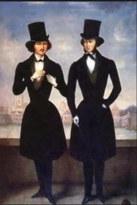 Пушкин и Гоголь
