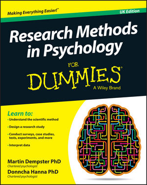 Research Methods in Psychology For Dummies®