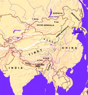 Россия, Япония и докоммунистический Тибет: роль легенды о Шамбале