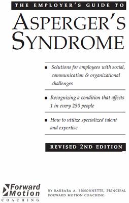 Руководство работодателя по синдрому Аспергера