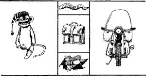 Сколько ног у обезьянки?