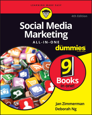 Social Media Marketing All-in-One For Dummies® [4th Edition]