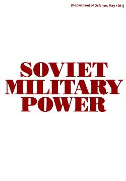 Soviet Military Power (Советская военная мощь) Издание первое
