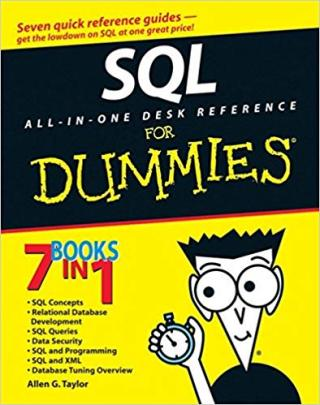SQL All-in-One Desk Reference For Dummies®