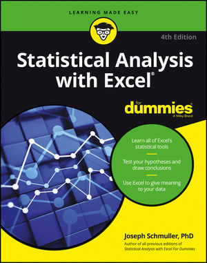 Statistical Analysis with Excel For Dummies® [4th Edition]