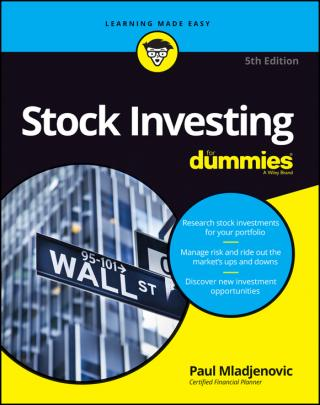 Stock Investing For Dummies® [5th Edition]