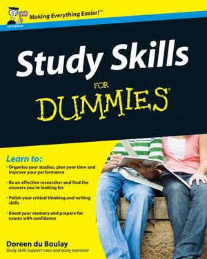 Study Skills For Dummies®
