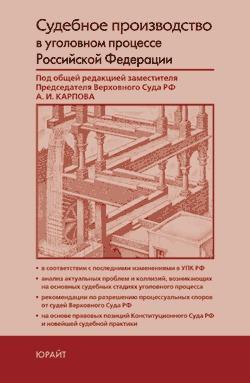 Судебное производство в уголовном процессе Российской Федерации