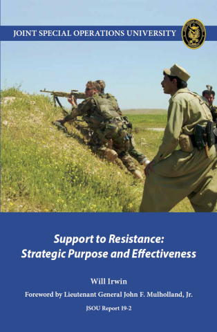 Support to Resistance: Strategic Purpose and Effectiveness