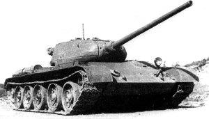 Т-44 в бою