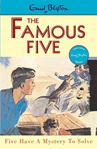 Тайна золотых статуй [Five Have a Mystery to Solve]