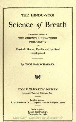 The Hindu-Yogi Science of Breath